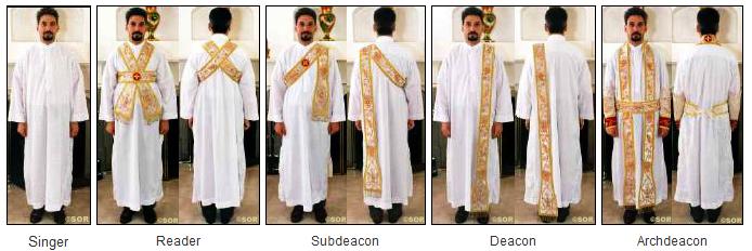 Föreläsning nr 2: om diakoner och diakonissor