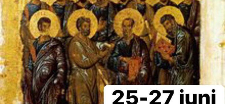 Apostlarnas fasta tidigareläggs med en dag!